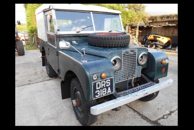 1958 Land Rover Series 1, Barn find, Undergoing restoration For Sale (picture 1 of 2)