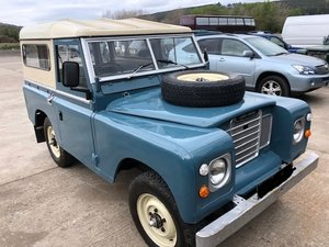 1973 Land Rover Series 3, 7 seater, Recon gearbox