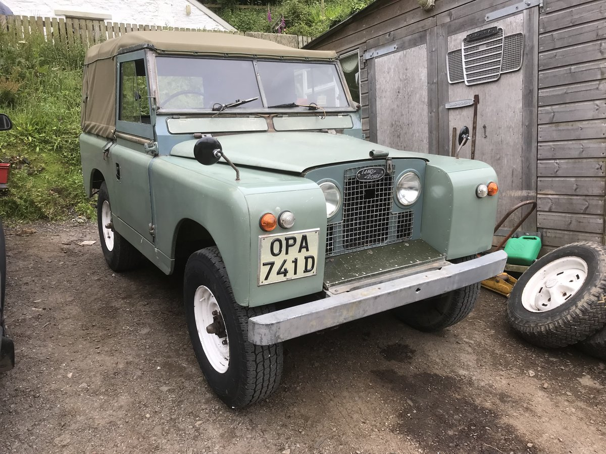 1966 Land Rover Series 2a SWB. Very original!! SOLD (picture 1 of 6)