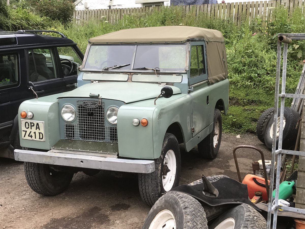 1966 Land Rover Series 2a SWB. Very original!! SOLD (picture 3 of 6)