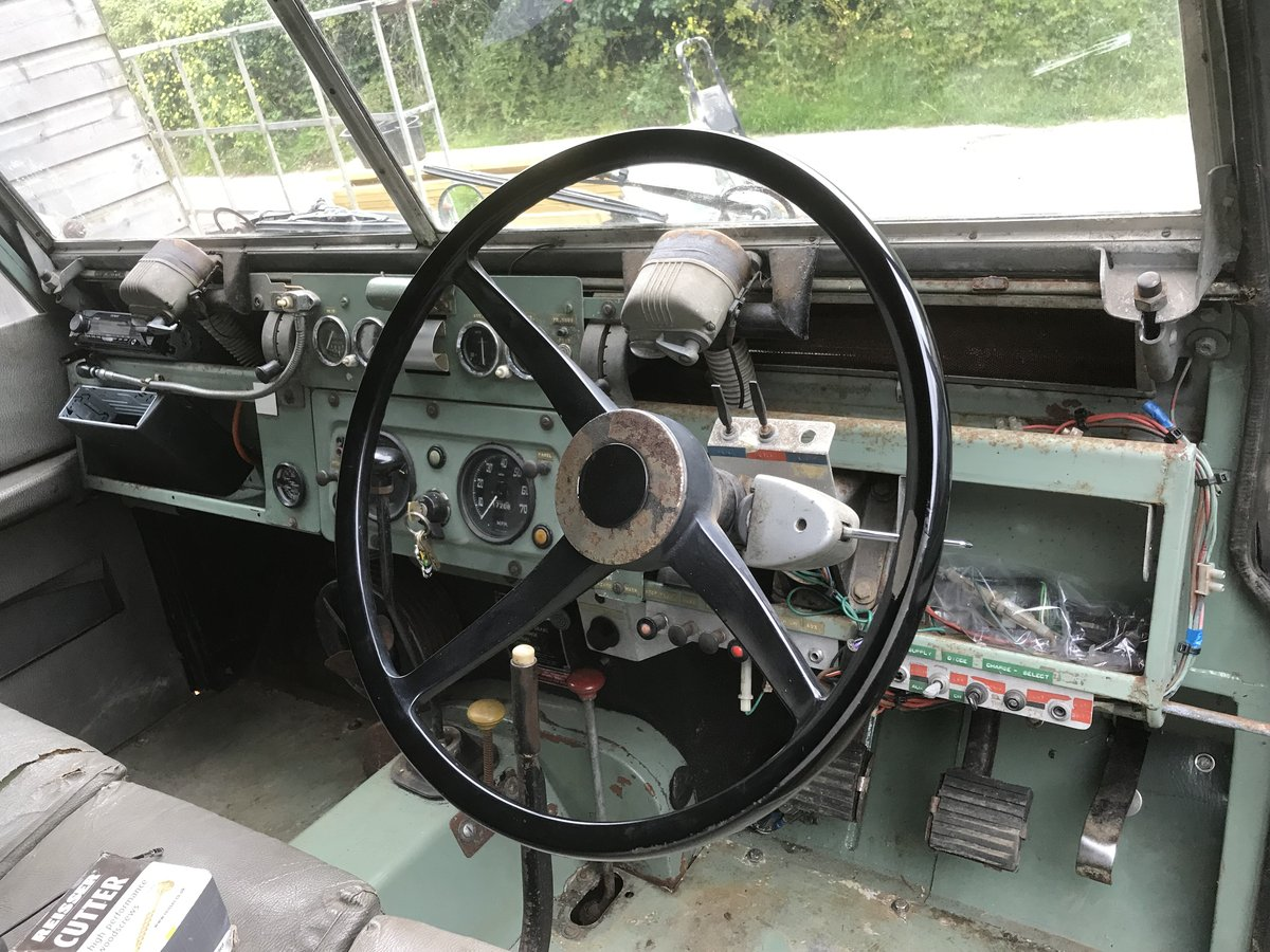 1966 Land Rover Series 2a SWB. Very original!! SOLD (picture 4 of 6)