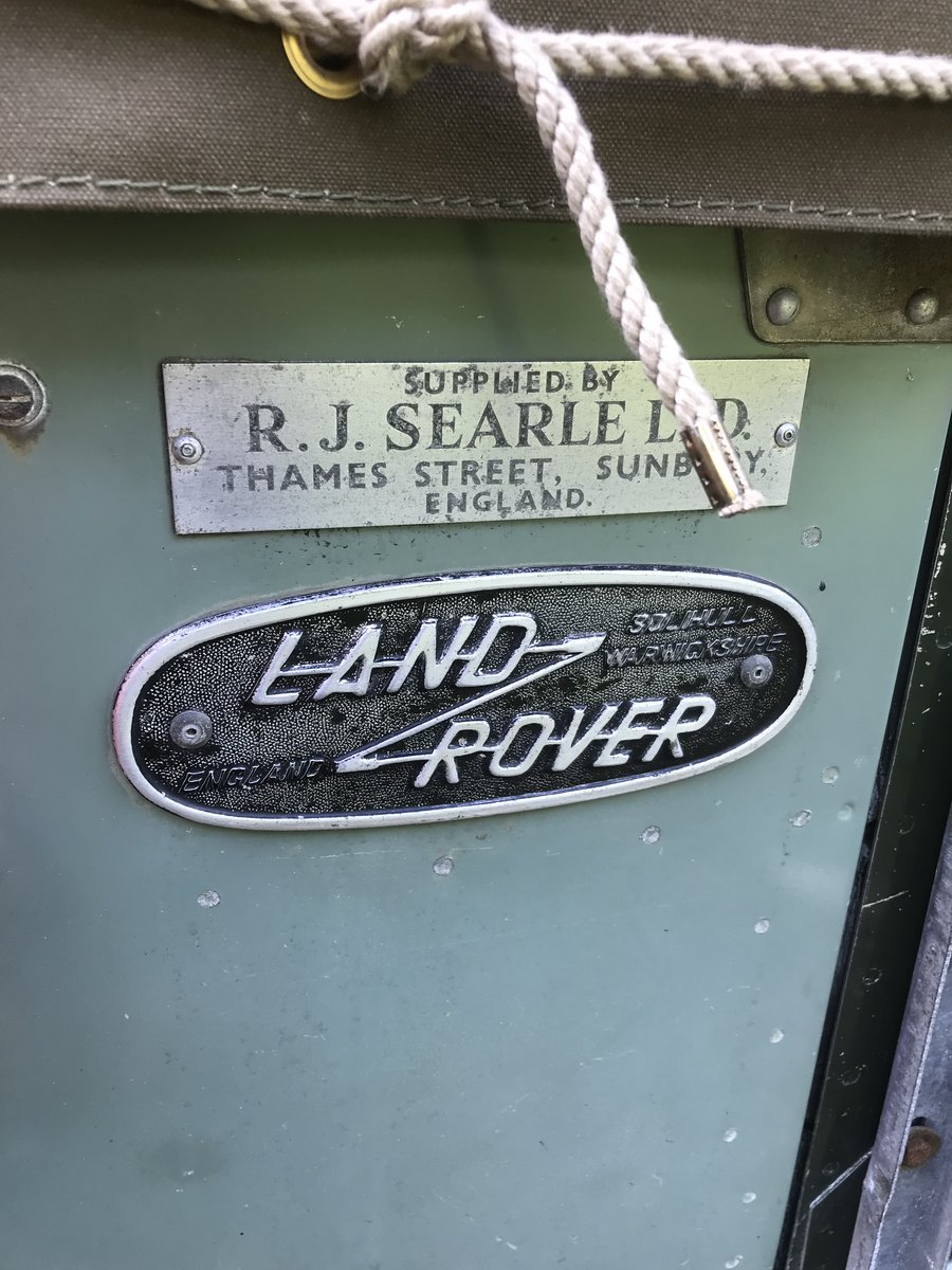 1966 Land Rover Series 2a SWB. Very original!! SOLD (picture 5 of 6)