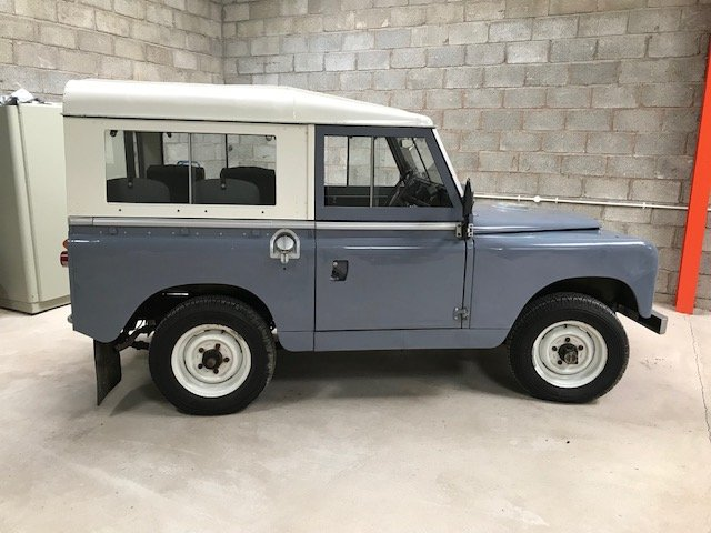 Land Rover series 2a  1962 overdrive SOLD (picture 1 of 6)