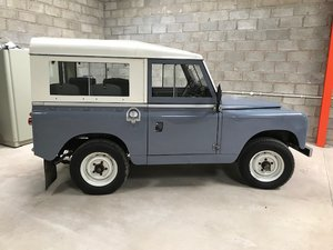 Land Rover series 2a  overdrive 1962