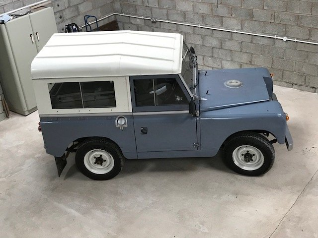 Land Rover series 2a  1962 overdrive SOLD (picture 2 of 6)