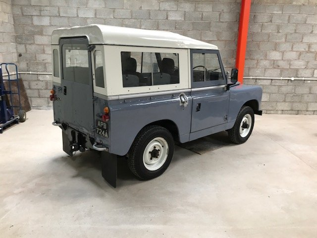 Land Rover series 2a  1962 overdrive SOLD (picture 3 of 6)