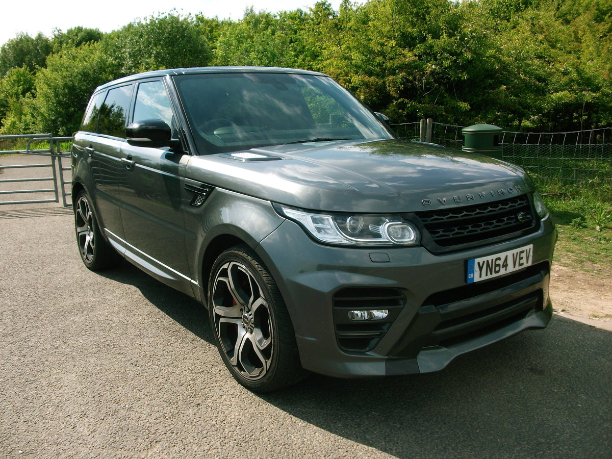 2014 RangeRover Sport Overfinch SDV8 SOLD (picture 1 of 6)
