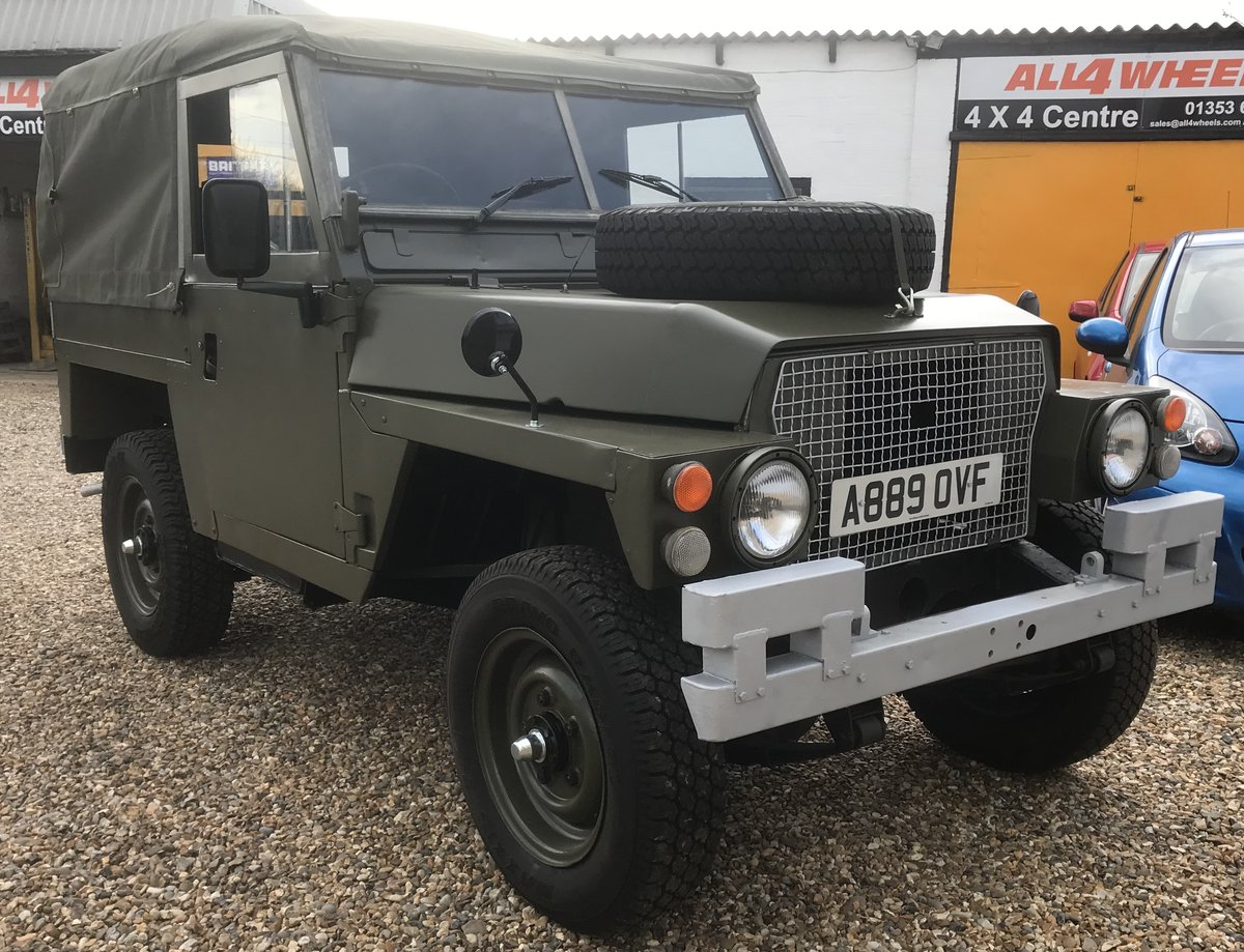 1984 Land Rover Lightweight SOLD (picture 1 of 6)