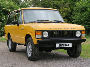 Range Rover Classic 2 Door 1981 V8 For Sale