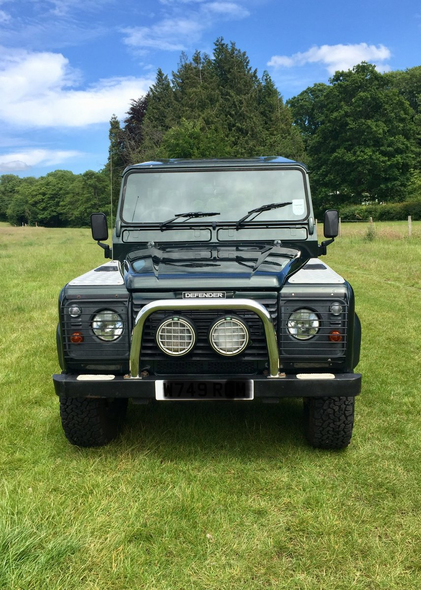 2000 Land Rover Defender 90 County TD5 For Sale (picture 2 of 6)