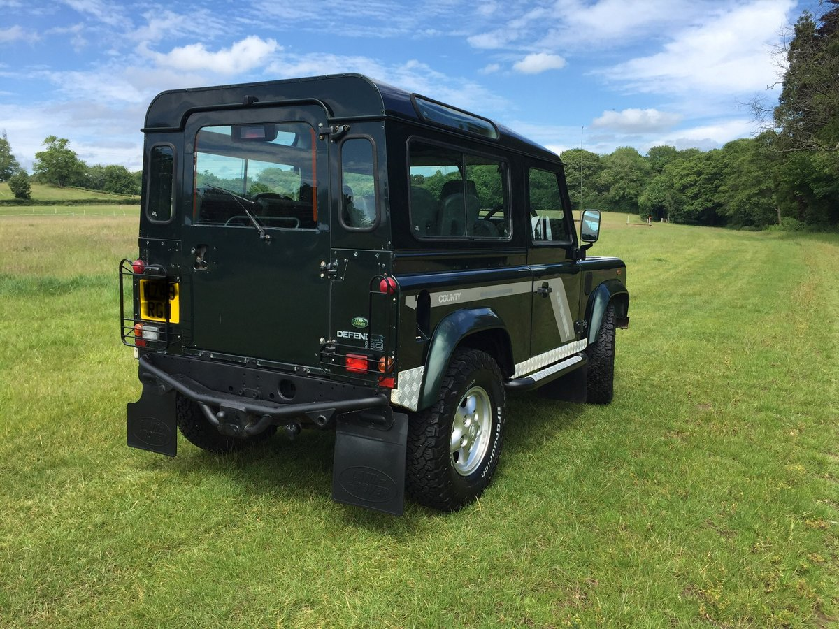2000 Land Rover Defender 90 County TD5 For Sale (picture 3 of 6)