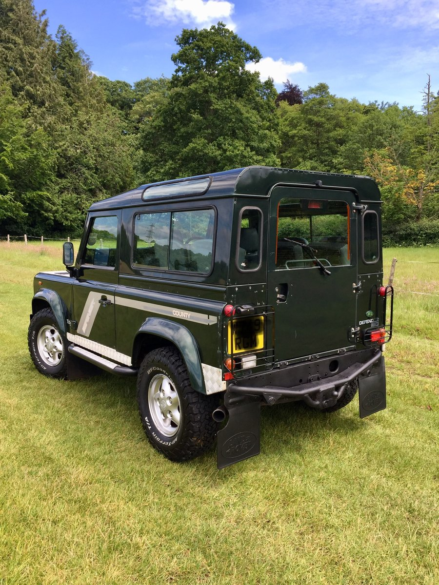 2000 Land Rover Defender 90 County TD5 For Sale (picture 6 of 6)