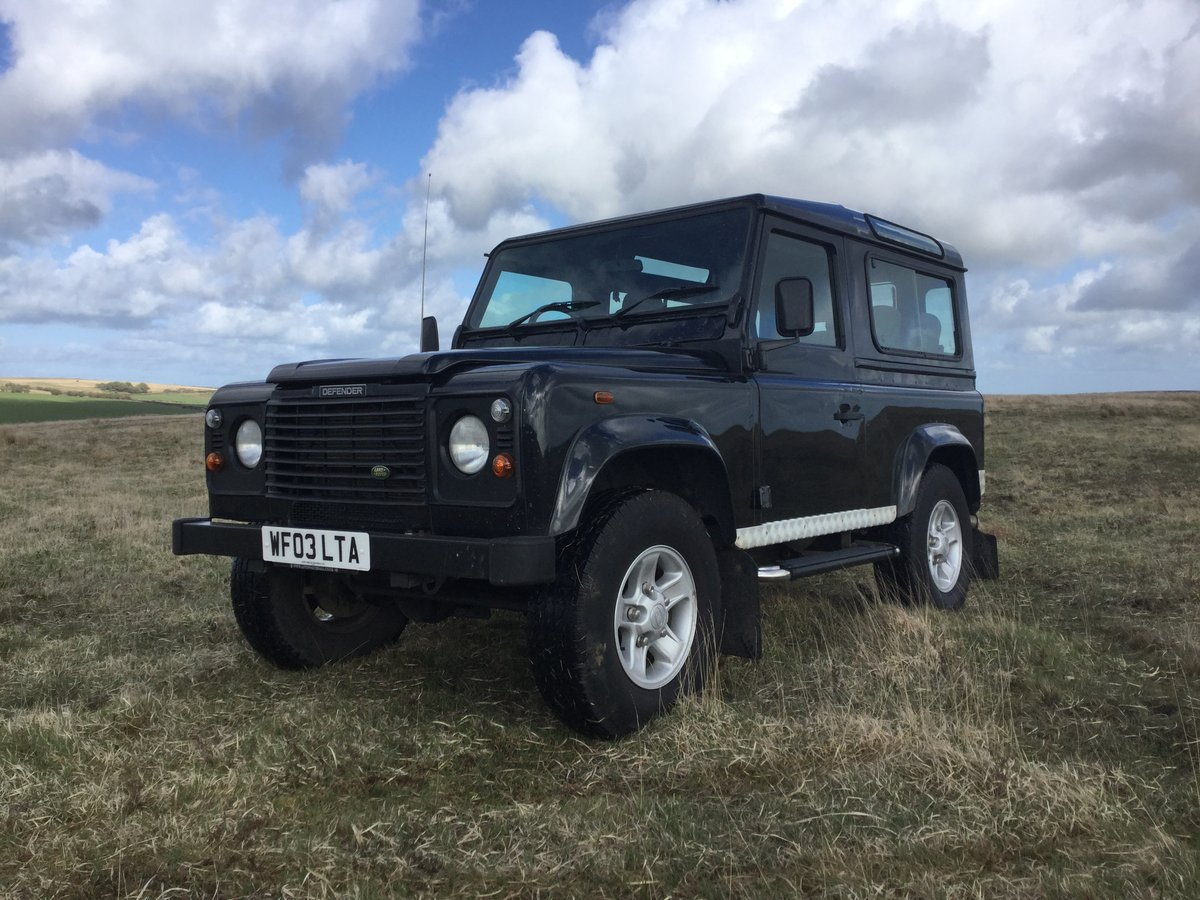 2003 Genuine Defender County Station Wagon - Excellent. For Sale (picture 1 of 6)