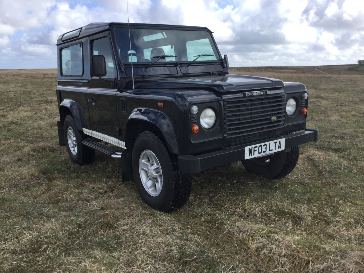 2003 Genuine Defender County Station Wagon - Excellent. For Sale (picture 2 of 6)