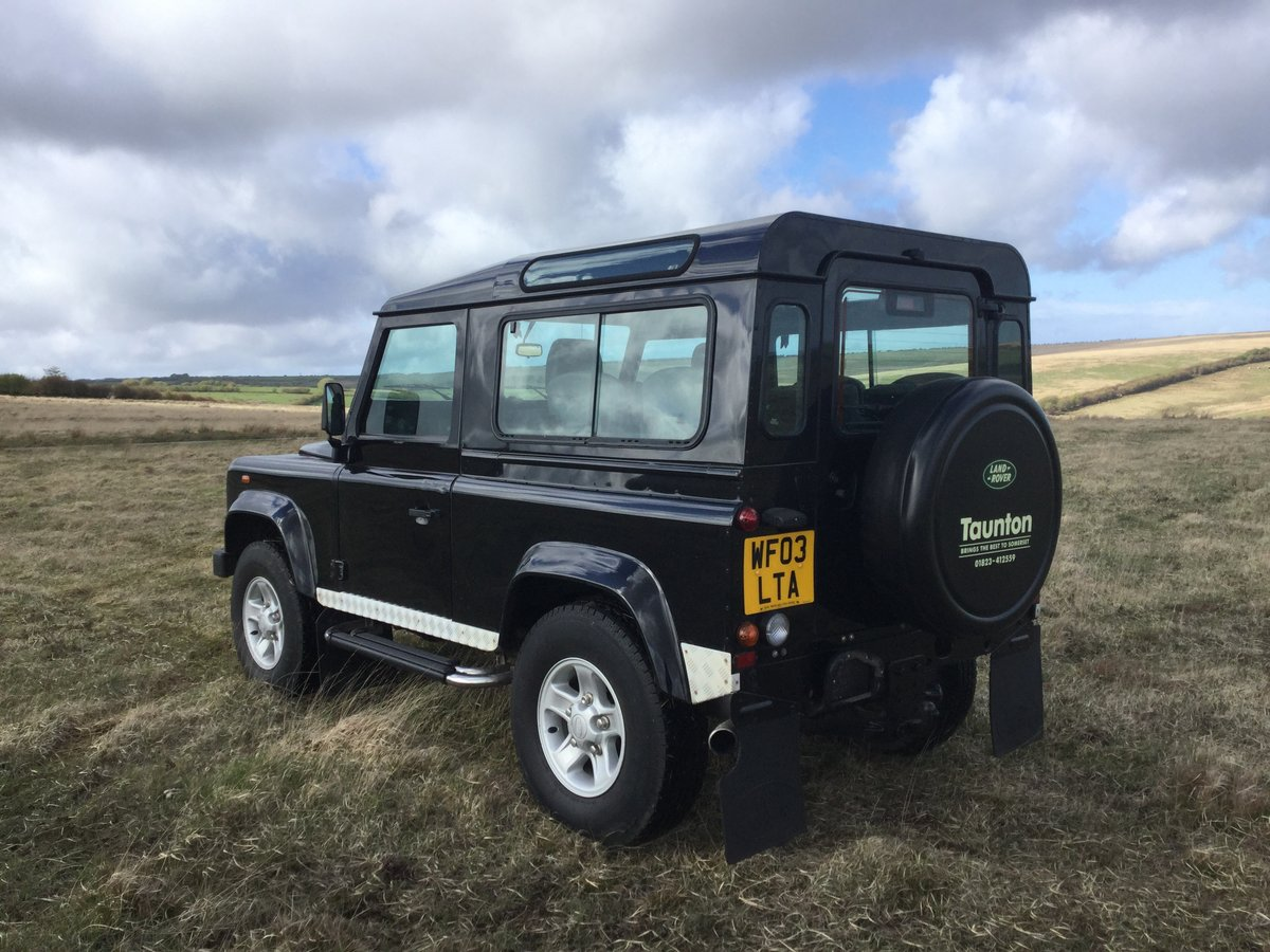2003 Genuine Defender County Station Wagon - Excellent. For Sale (picture 3 of 6)