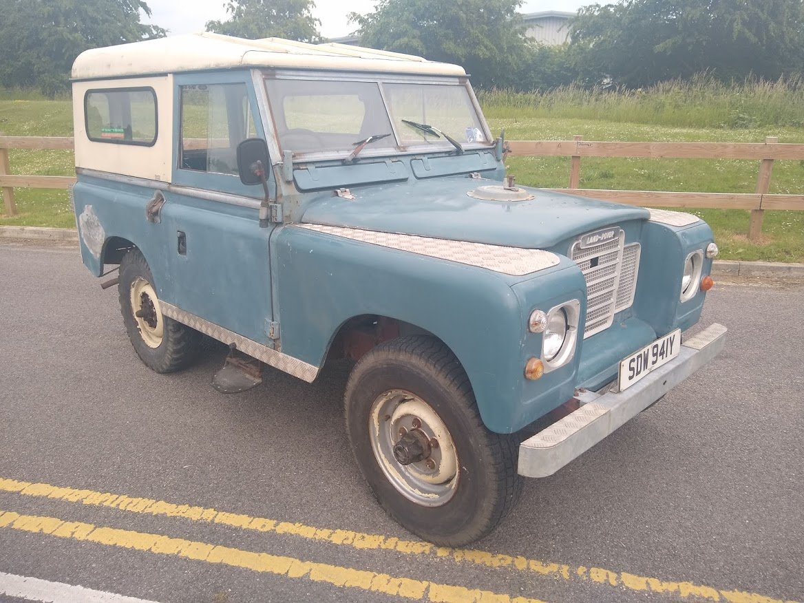 1983 Land Rover series 3 88 For Sale by Auction (picture 1 of 6)