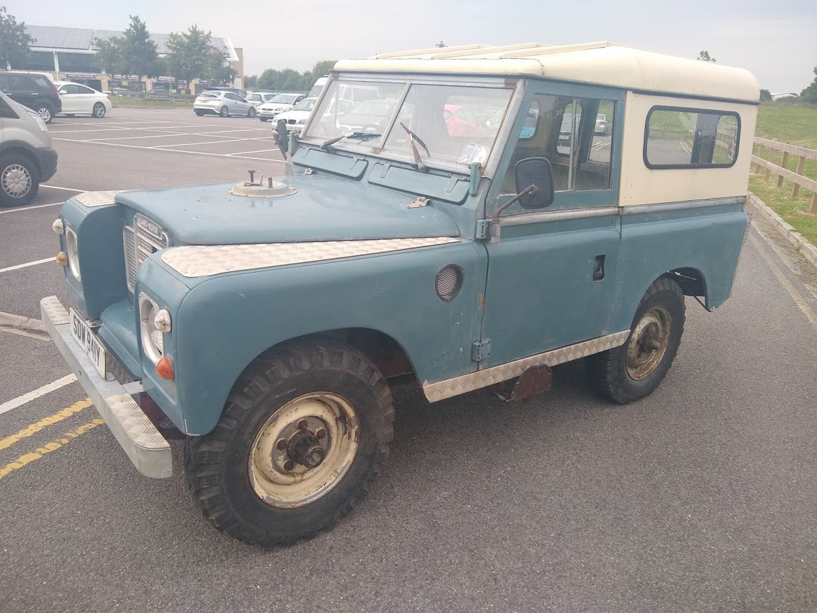 1983 Land Rover series 3 88 For Sale by Auction (picture 3 of 6)