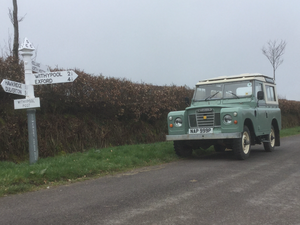 1976 Stunning Series 3 Petrol Safari with Overdrive. For Sale