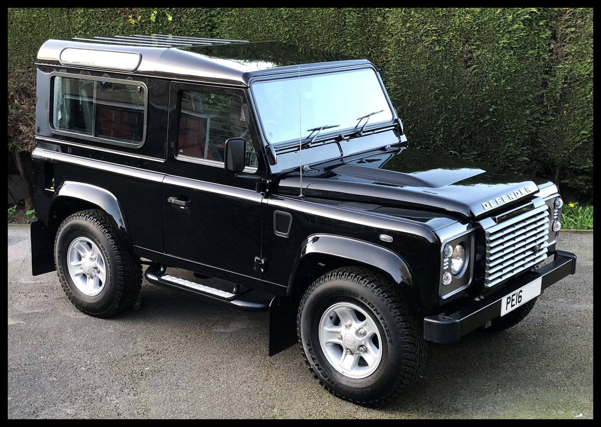 2016 Land Rover Defender 90XS TD - Only 62 mls - The Market SOLD by Auction (picture 1 of 6)