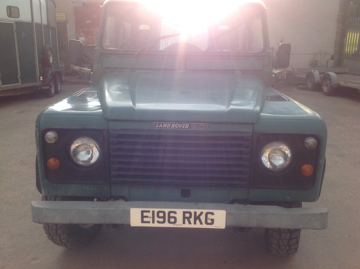 1987 Land Rover 90 Very orginal early 90 turbo diesel For Sale (picture 1 of 6)