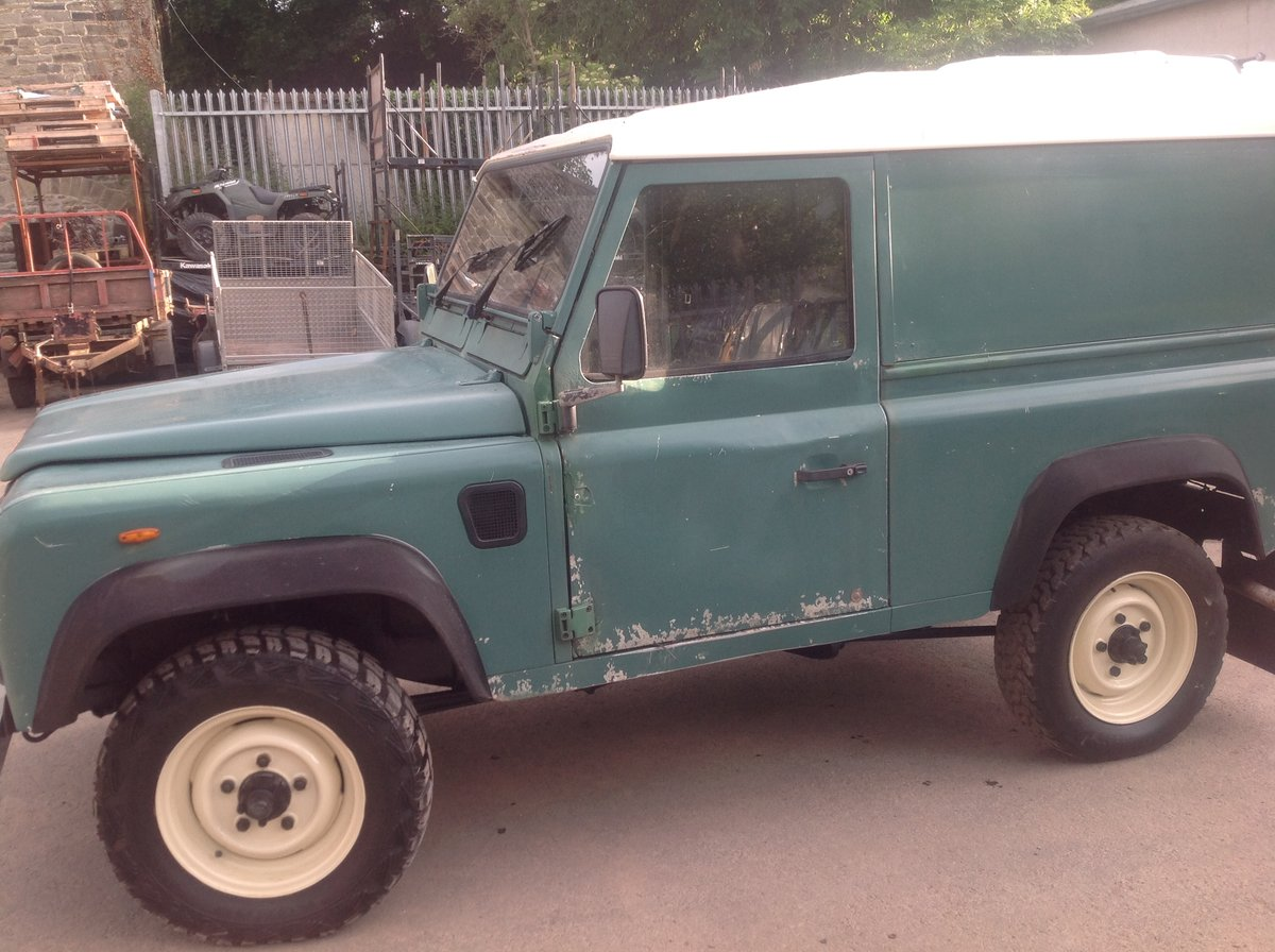 1987 Land Rover 90 Very orginal early 90 turbo diesel For Sale (picture 2 of 6)