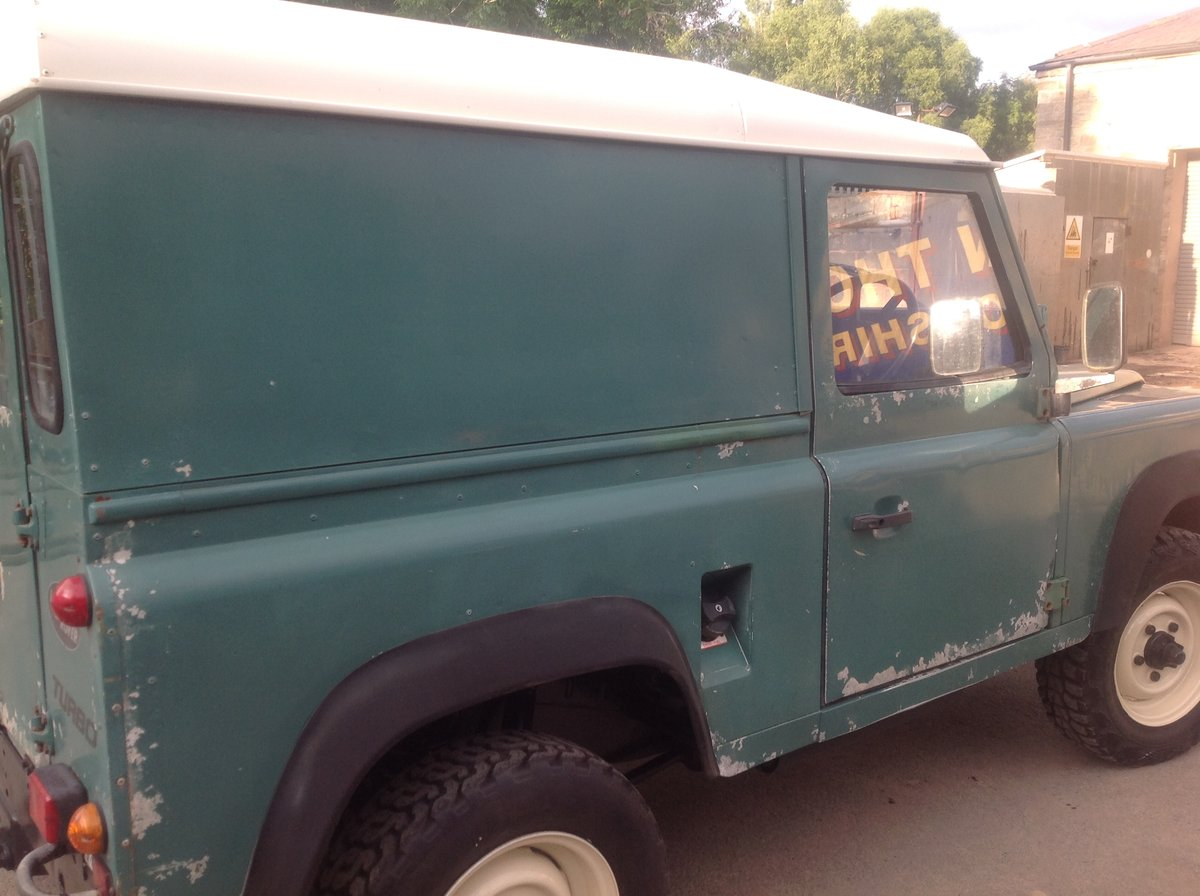 1987 Land Rover 90 Very orginal early 90 turbo diesel For Sale (picture 4 of 6)