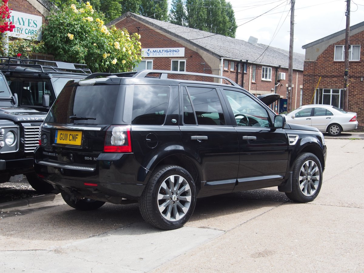 2011 Land Rover Freelander 2 SD4 XS For Sale (picture 3 of 6)