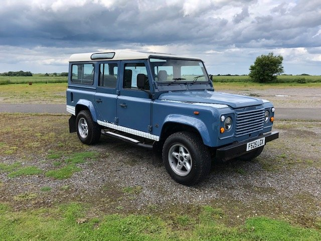 1989 Land Rover 110 4.6 v8 Overfinch For Sale (picture 1 of 5)