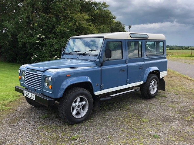 1989 Land Rover 110 4.6 v8 Overfinch For Sale (picture 3 of 5)