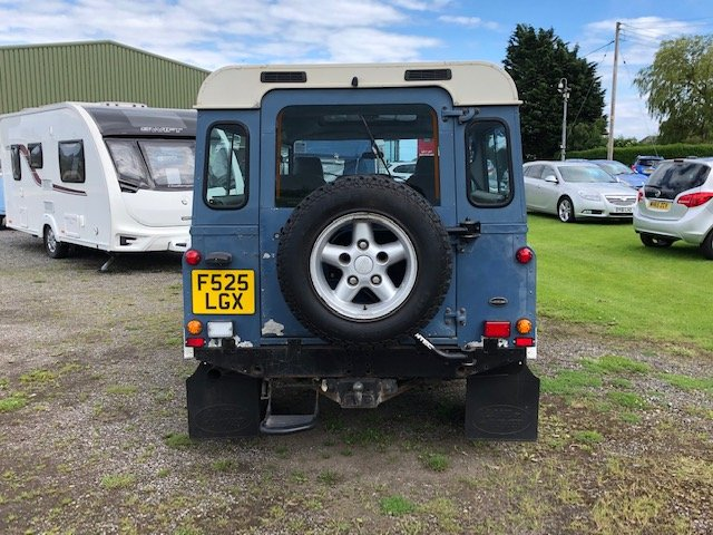 1989 Land Rover 110 4.6 v8 Overfinch For Sale (picture 4 of 5)