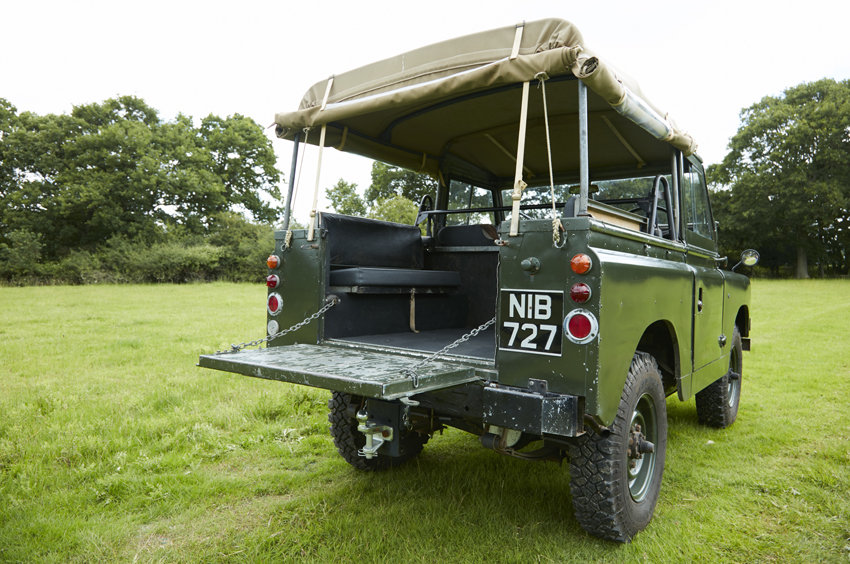 SOLD:  Land Rover Series 2A - Very solid 1964  SOLD (picture 3 of 4)