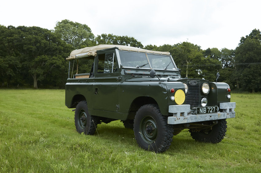 SOLD:  Land Rover Series 2A - Very solid 1964  SOLD (picture 4 of 4)