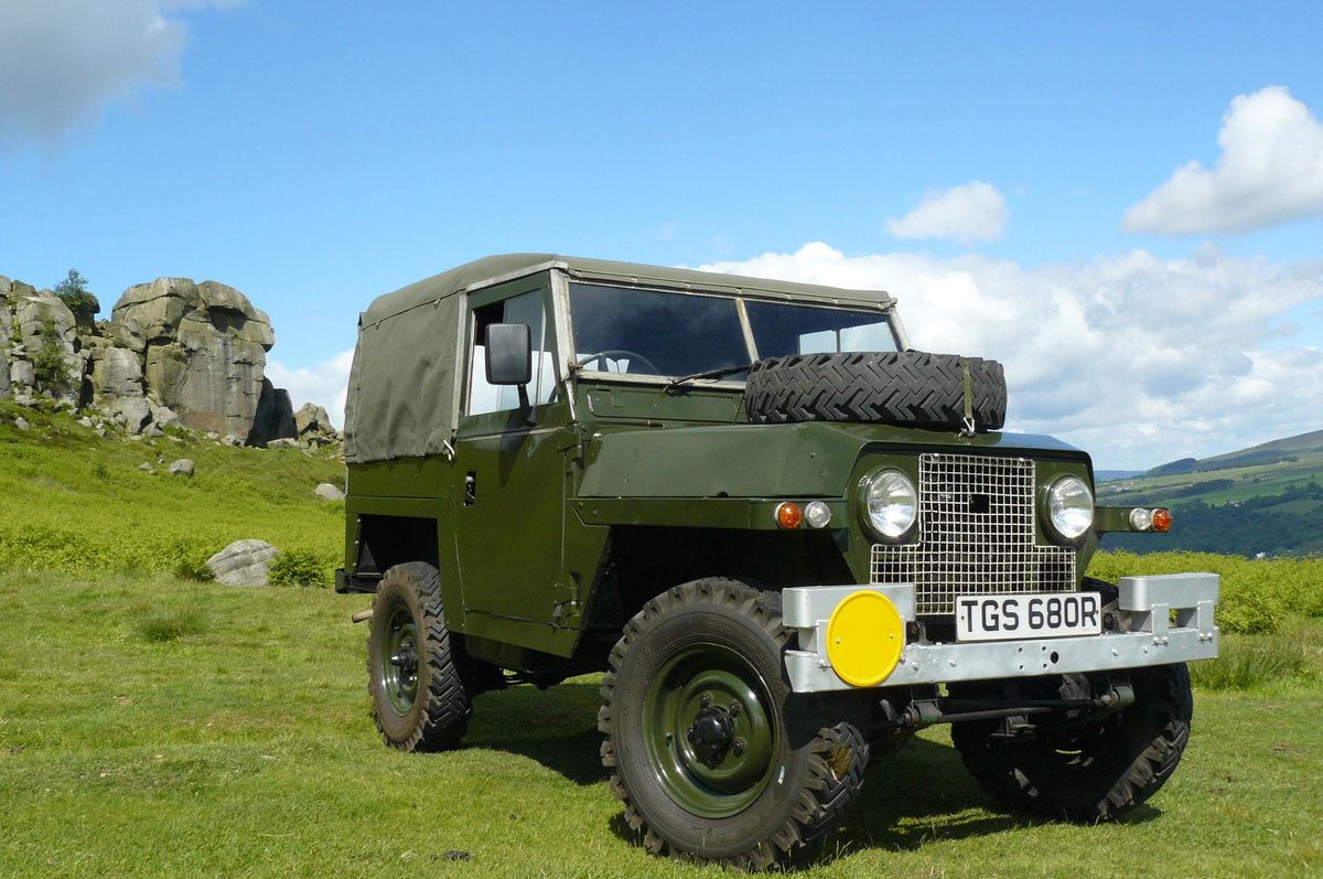 1968 LAND ROVER LIGHTWEIGHT 2a SOLD (picture 1 of 6)