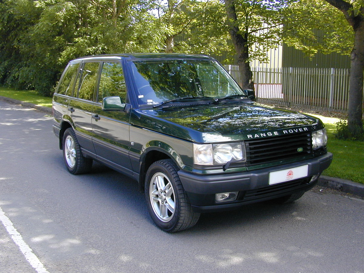 2001 RANGE ROVER P38 4.6 VOGUE RHD - JUST 59k! - EXCEPTIONAL! For Sale (picture 1 of 6)