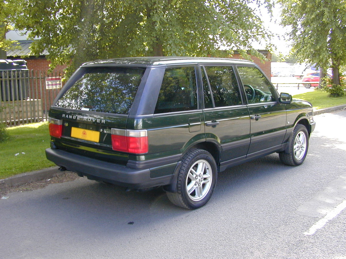 2001 RANGE ROVER P38 4.6 VOGUE RHD - JUST 59k! - EXCEPTIONAL! For Sale (picture 3 of 6)