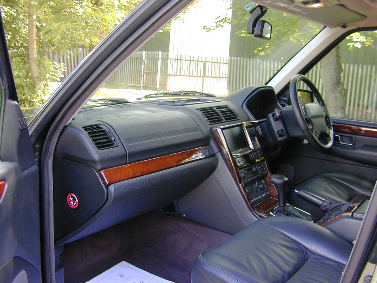 2001 RANGE ROVER P38 4.6 VOGUE RHD - JUST 59k! - EXCEPTIONAL! For Sale (picture 4 of 6)