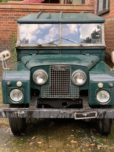 1958 Early Land Rover