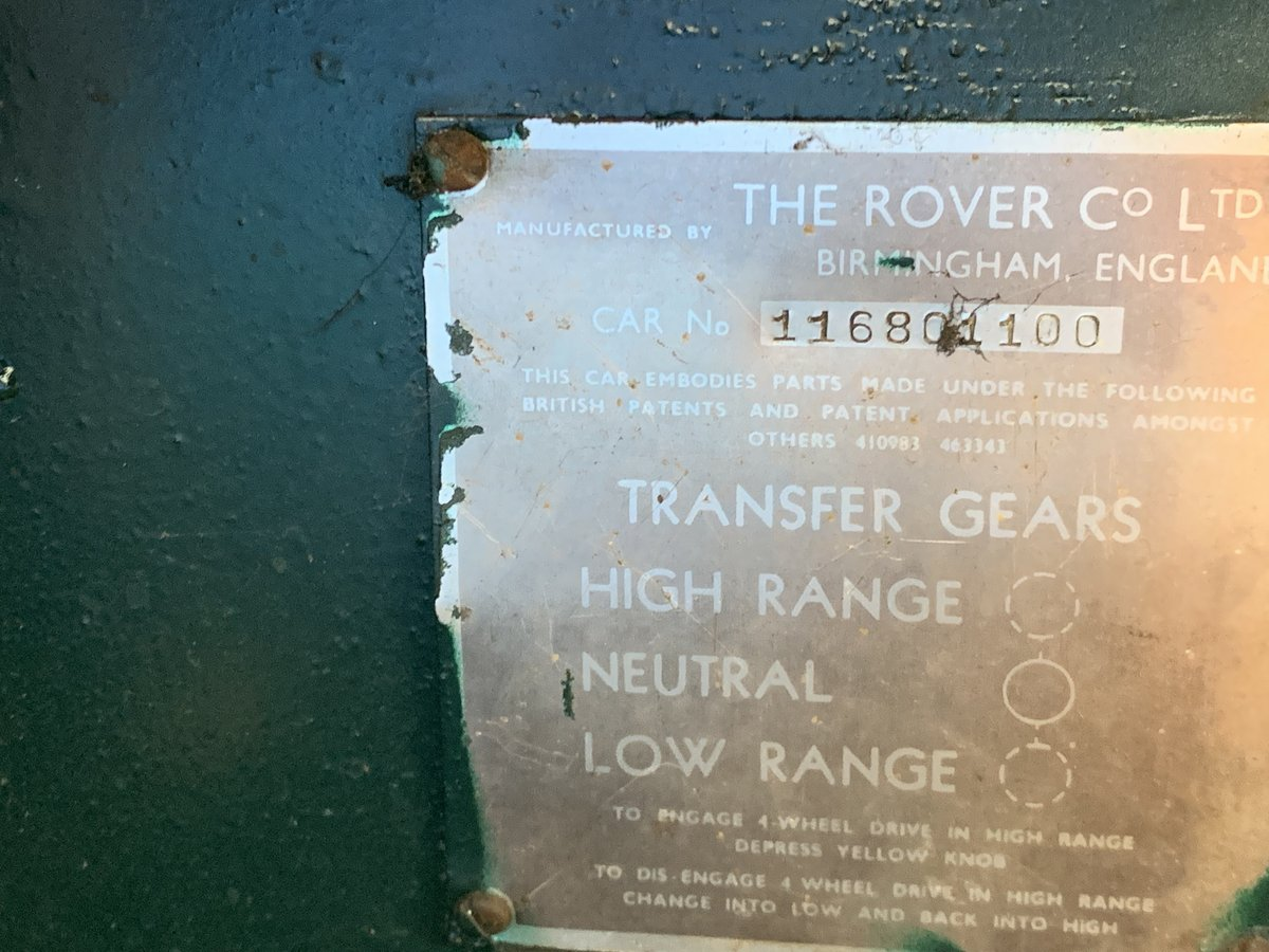 1958 Early Land Rover For Sale (picture 2 of 6)