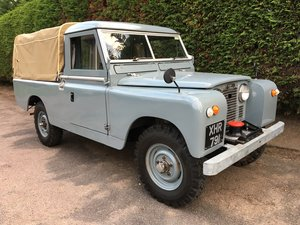 1960 Series II Land Rover 109. Fairey Overdrive. For Sale