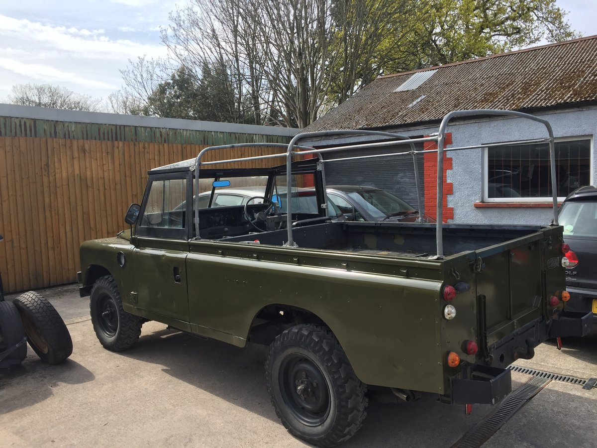 1980 Landrover 109 x army new respray softop £3500 For Sale (picture 1 of 6)