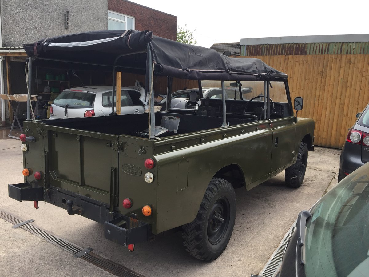 1980 Landrover 109 x army new respray softop £3500 For Sale (picture 2 of 6)