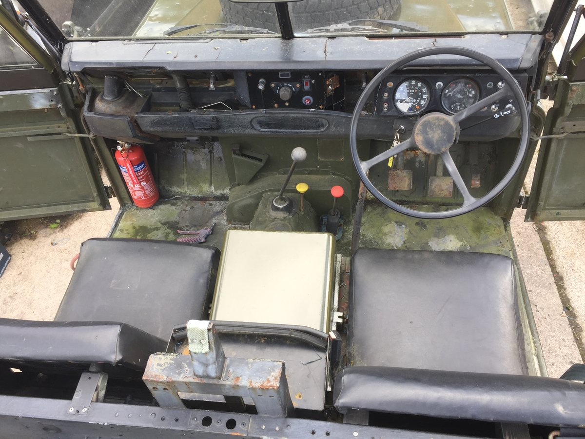 1980 Landrover 109 x army new respray softop £3500 For Sale (picture 3 of 6)