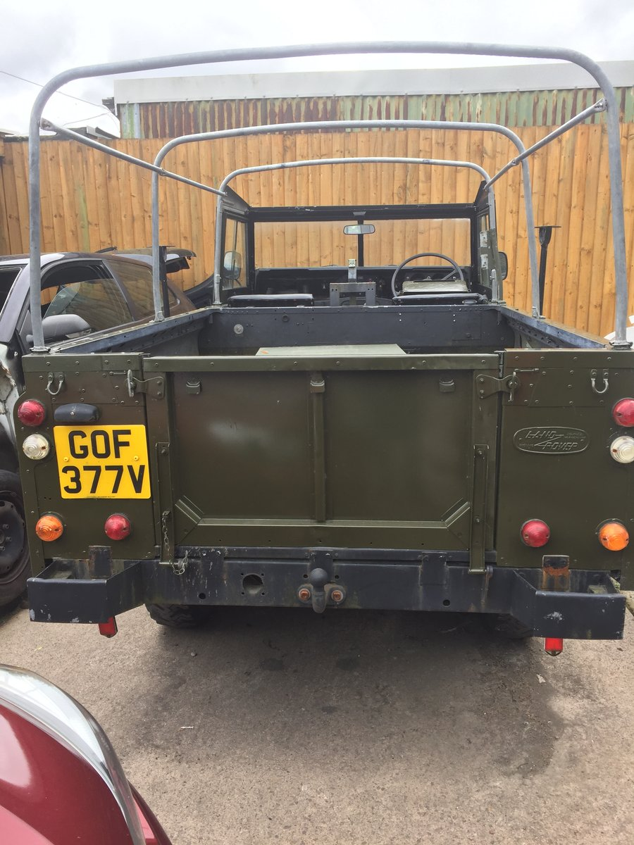 1980 Landrover 109 x army new respray softop £3500 For Sale (picture 5 of 6)