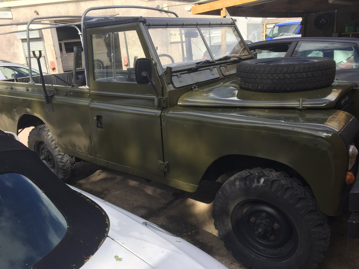 1980 Landrover 109 x army new respray softop £3500 For Sale (picture 6 of 6)