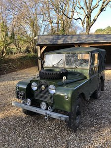 Landrover series 1 1952 matching numbers