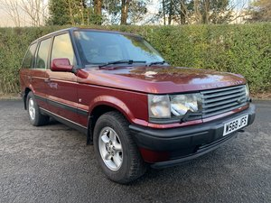 2000 *** EXTREMELY LOW MILEAGE P38 RANGE ROVER ***