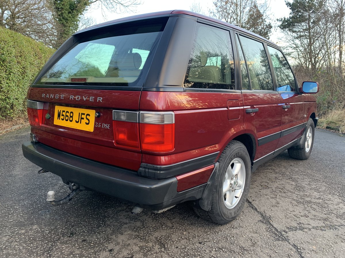 2000 *** EXTREMELY LOW MILEAGE P38 RANGE ROVER *** For Sale (picture 2 of 6)