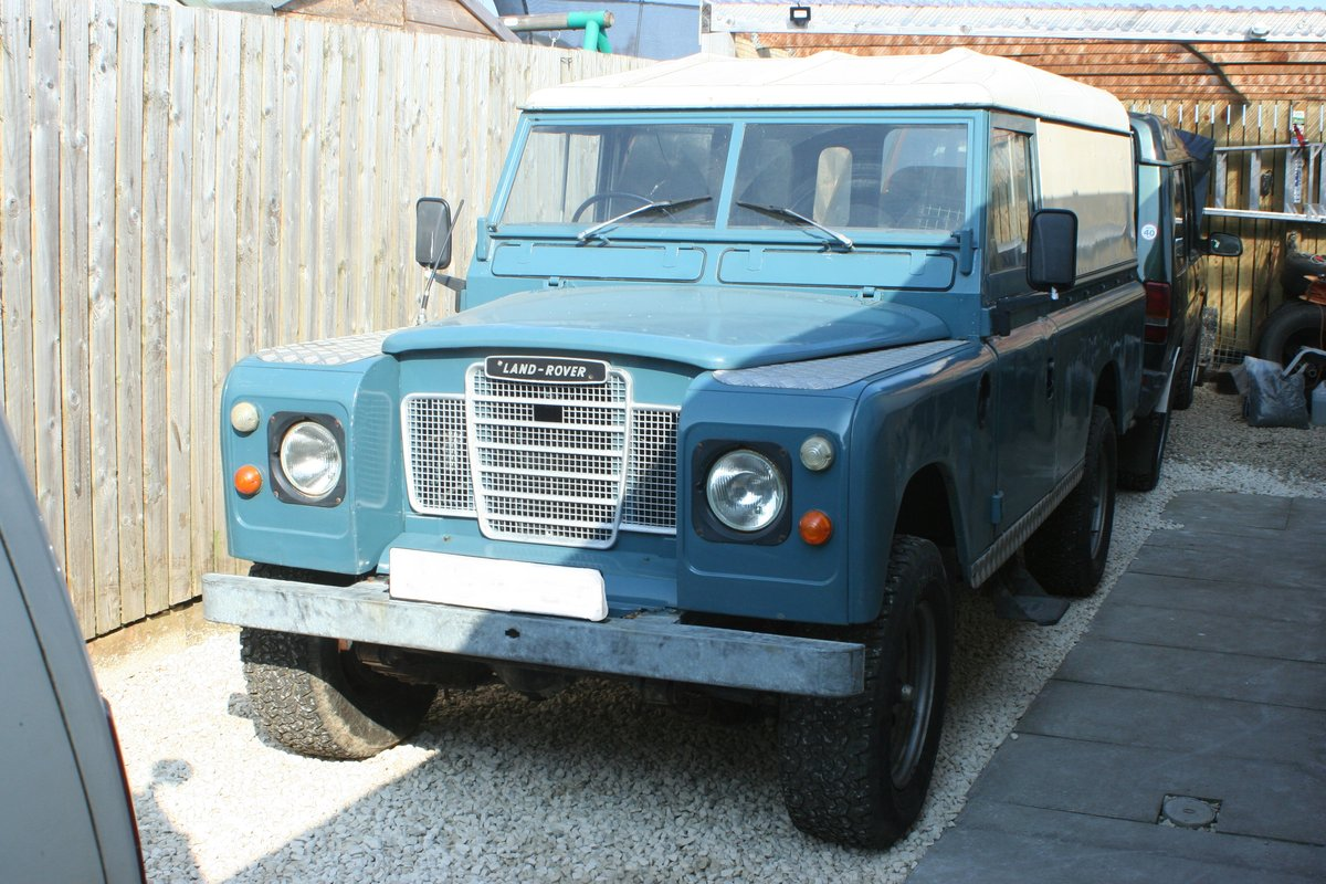 1975 Land Rover Series 3 109 Tax Free / Mot Exempt / For Sale (picture 1 of 6)