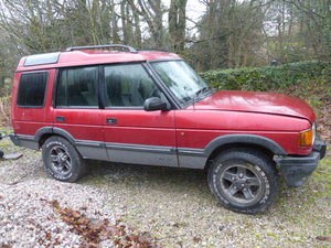 1996 Discovery Auto 300 tdI XS Leather + Logo seats