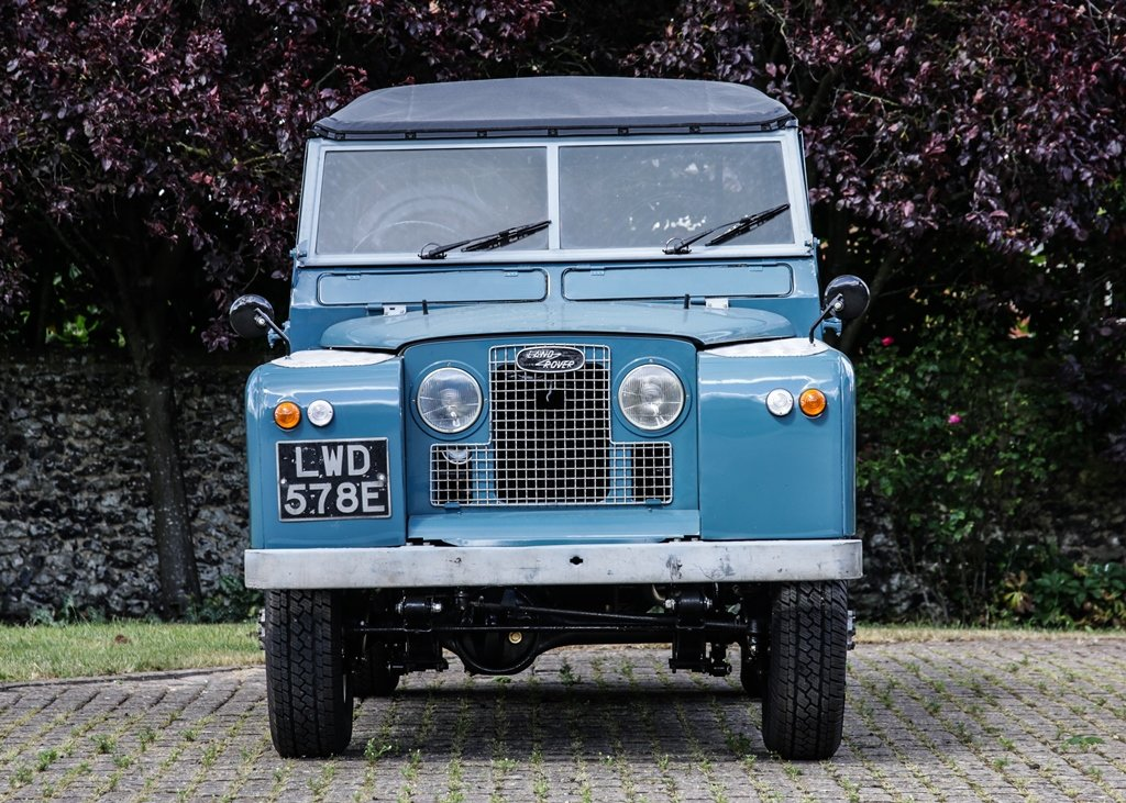 1967 Land Rover Series II Soft Top (88) SOLD by Auction (picture 1 of 6)
